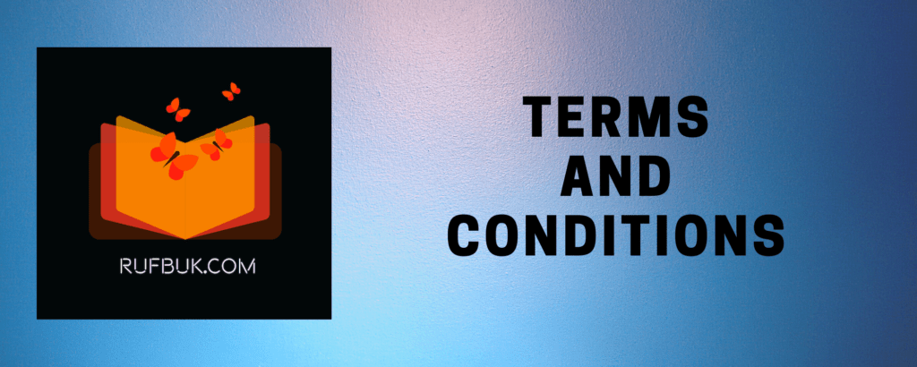 TERMS AND CONDITIONS of Rufbuk.com