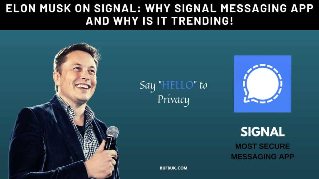 Elon Musk on Signal: What is signal app and why is it trending